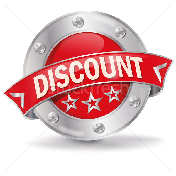 Button discount  Stock photo © Ustofre9