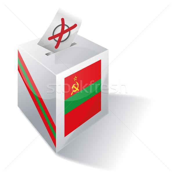 Ballot box Transnistria Stock photo © Ustofre9
