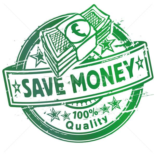 Pecsét megtakarítás vásárlás biztonság törvény hát Stock fotó © Ustofre9