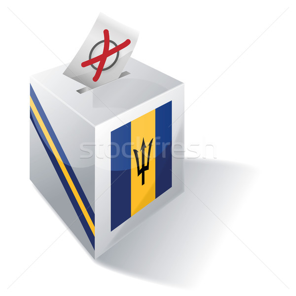 Ballot box Barbados Stock photo © Ustofre9