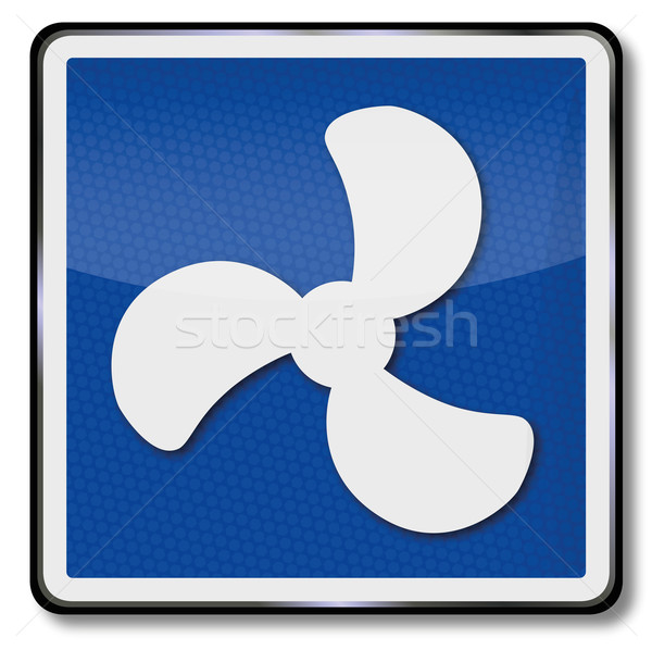 Navigational marks to drive vehicles with engines Stock photo © Ustofre9