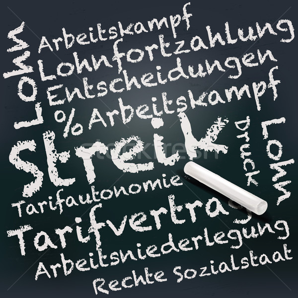 доске мелом забастовка фон исследование окончания Сток-фото © Ustofre9