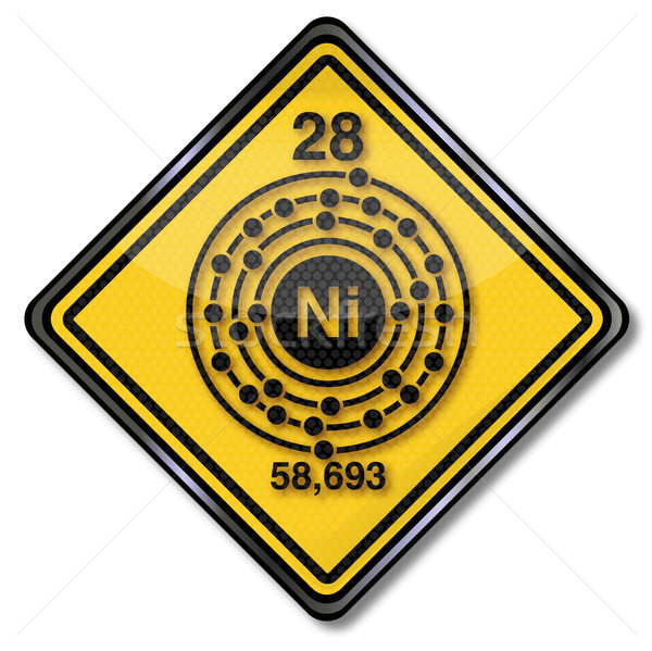 Sign chemistry character nickel  Stock photo © Ustofre9