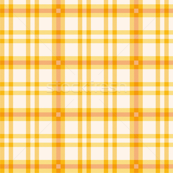 Tablecloth with orange plaid Stock photo © Ustofre9