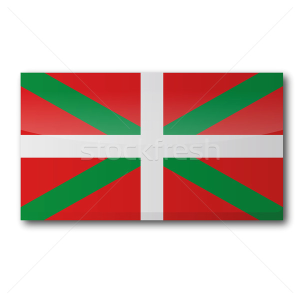 Flag Basque Country Stock photo © Ustofre9