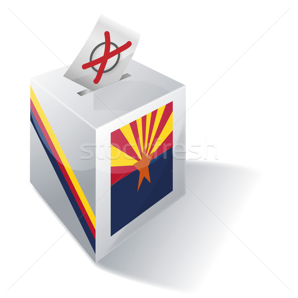 Ballot box Arizona Stock photo © Ustofre9