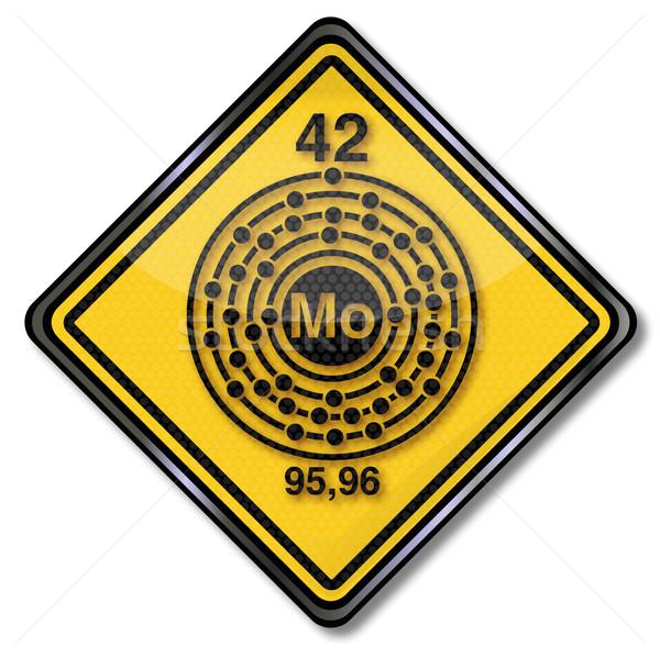 Chimie bouclier chimiques signes plastique Photo stock © Ustofre9
