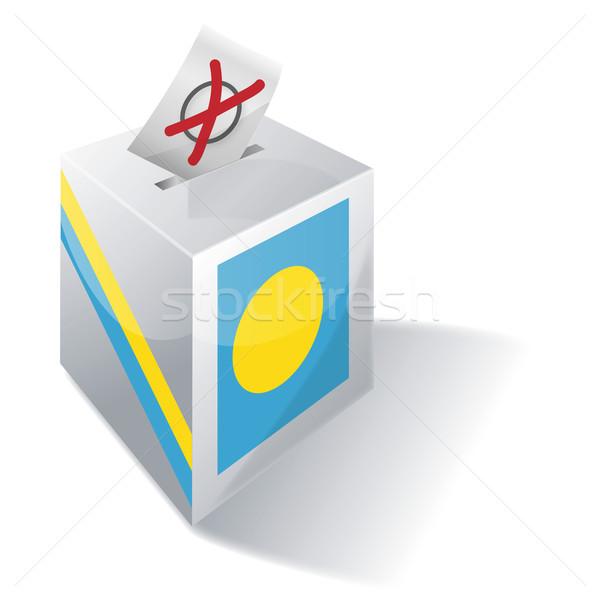 投票 ボックス パラオ 海 自由 島 ストックフォト © Ustofre9