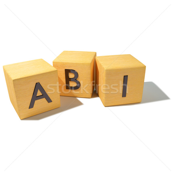 Dice with abi and high school Stock photo © Ustofre9