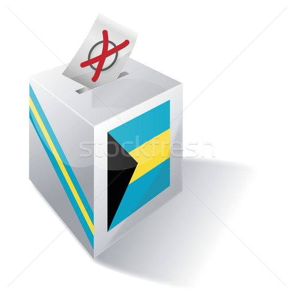 Ballot box Bahamas Stock photo © Ustofre9