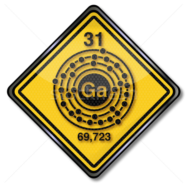 Sign chemistry character and chemical character gallium  Stock photo © Ustofre9