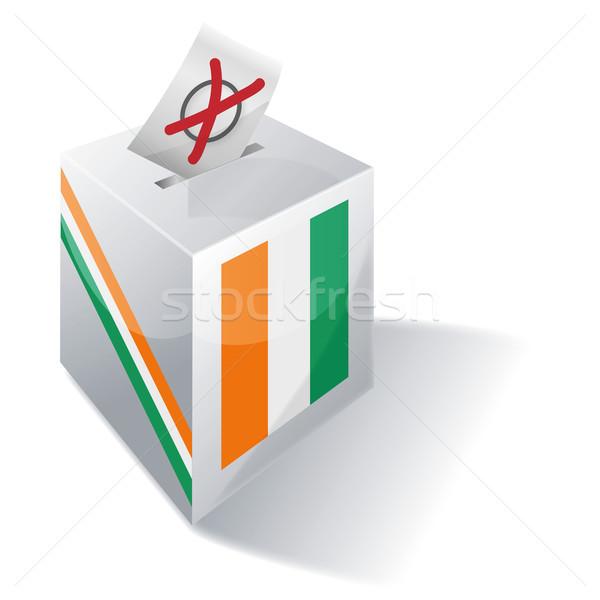 Ballot box of the Ivory Coast Stock photo © Ustofre9