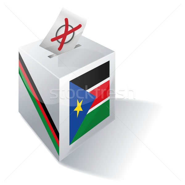 Ballot box South Sudan Stock photo © Ustofre9