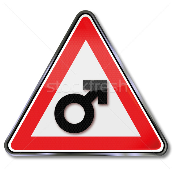 Sign male and masculinity Stock photo © Ustofre9