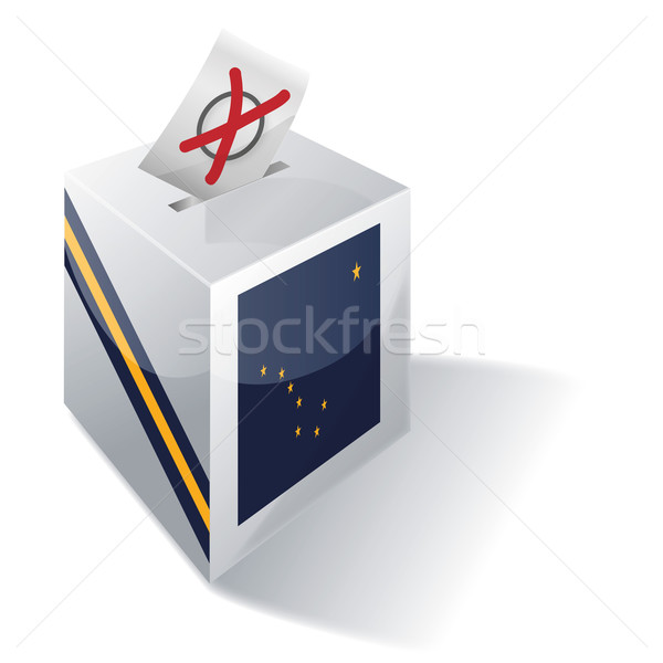 Ballot box Alaska Stock photo © Ustofre9