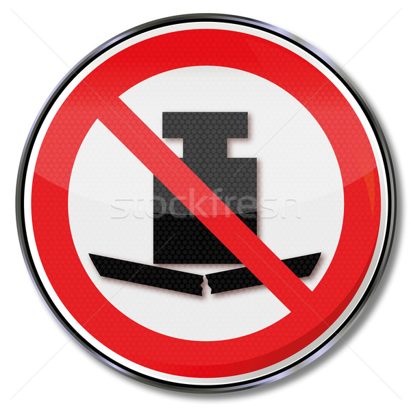 Prohibition sign no heavy load Stock photo © Ustofre9