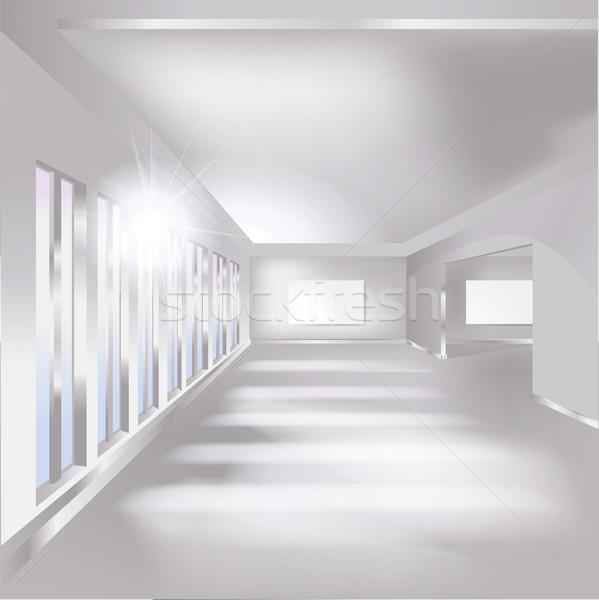зале галерея выставка бизнеса служба здании Сток-фото © Ustofre9