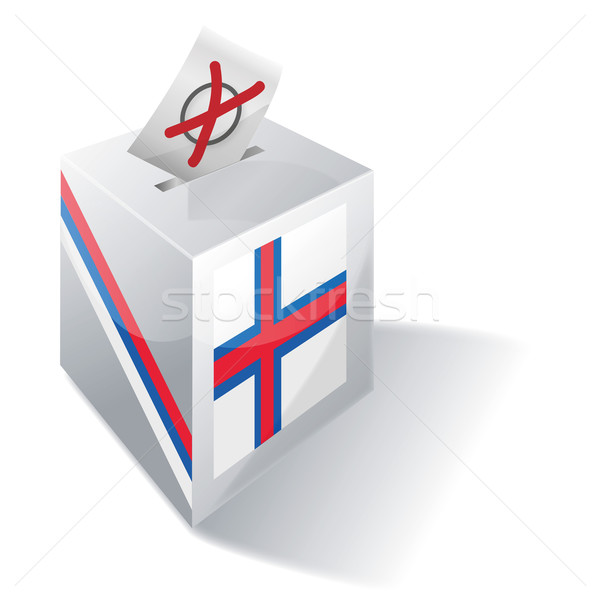 Ballot box Faroe Islands Stock photo © Ustofre9