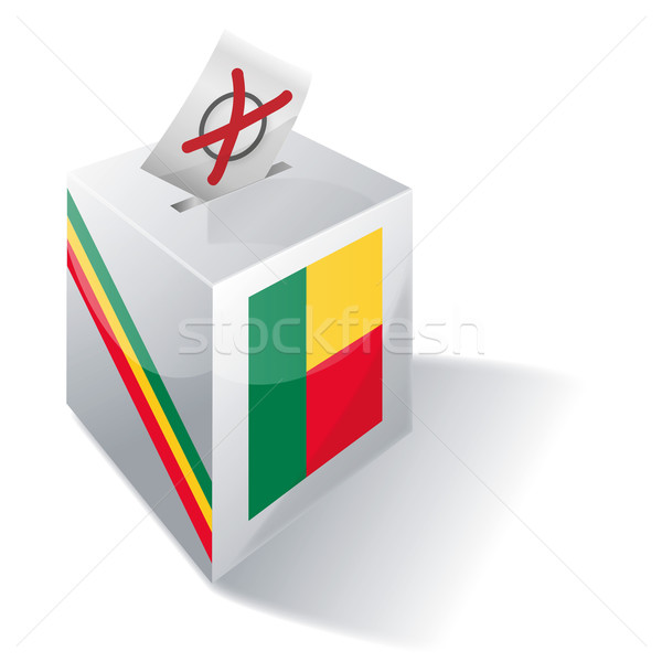 Ballot box Benin Stock photo © Ustofre9