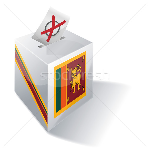 Ballot box Sri Lanka Stock photo © Ustofre9