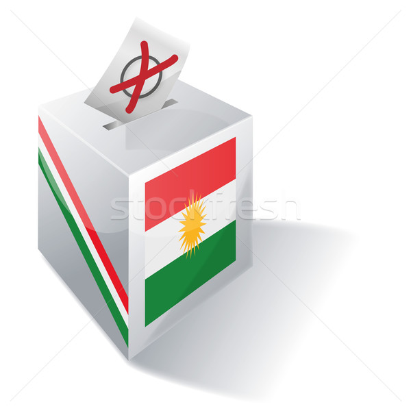 Ballot box Kurdistan  Stock photo © Ustofre9