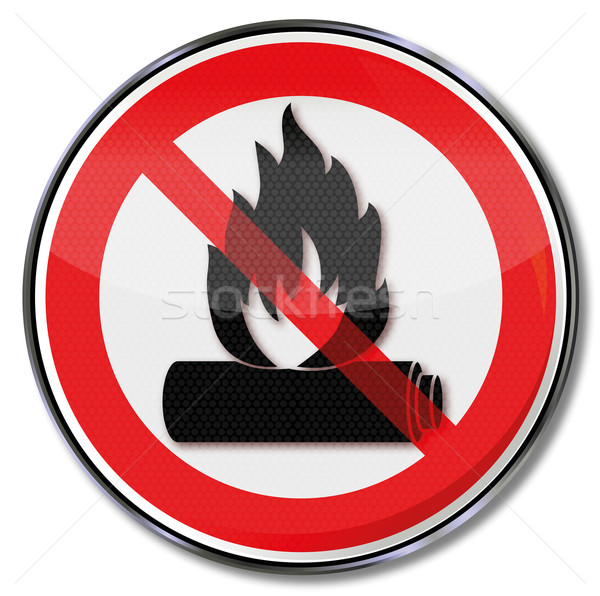 Do not incinerate and put the battery on fire Stock photo © Ustofre9