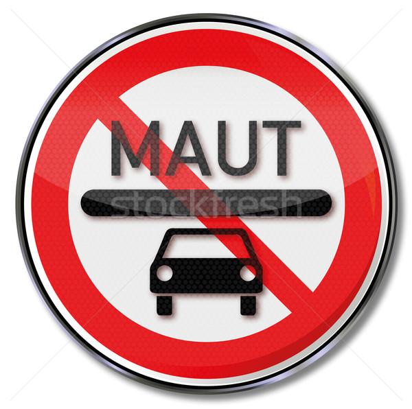禁止 にログイン 車 トール 通り 法 ストックフォト © Ustofre9