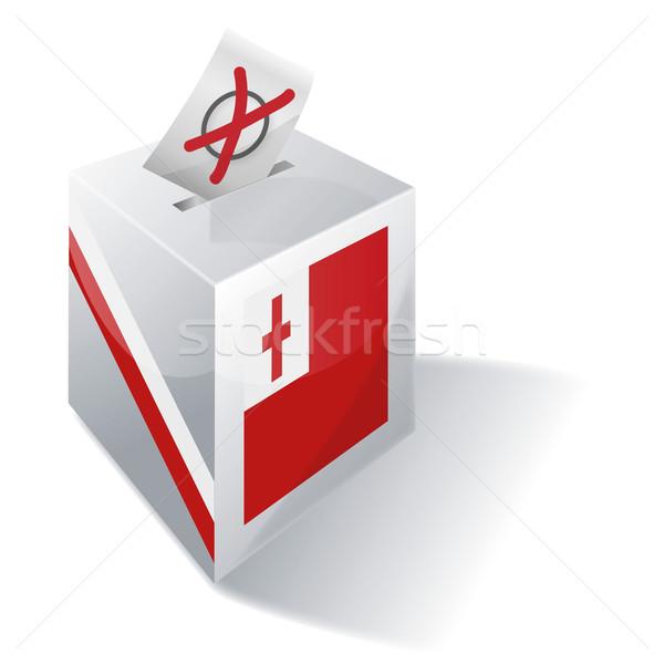 Ballot box Tonga Stock photo © Ustofre9
