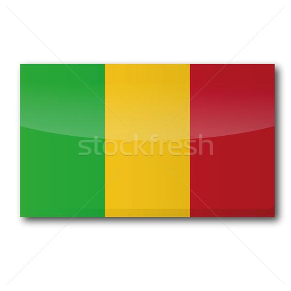 Flag Mali Stock photo © Ustofre9