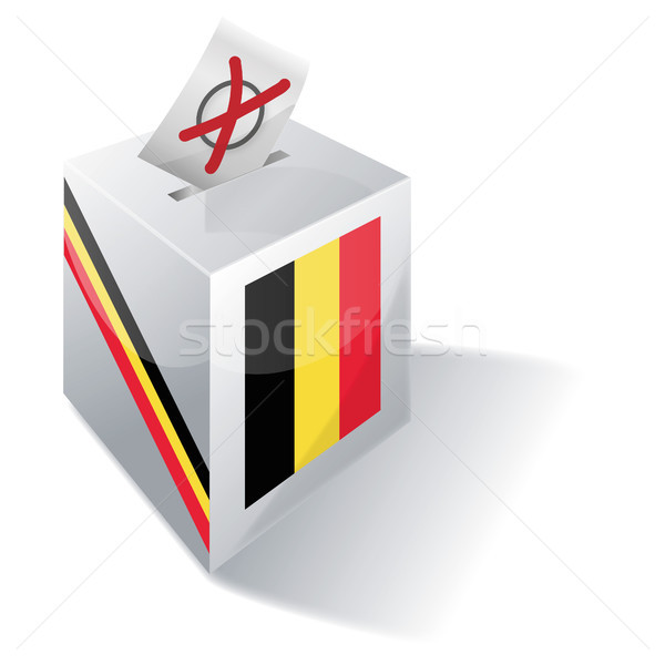 Ballot box Belgium Stock photo © Ustofre9