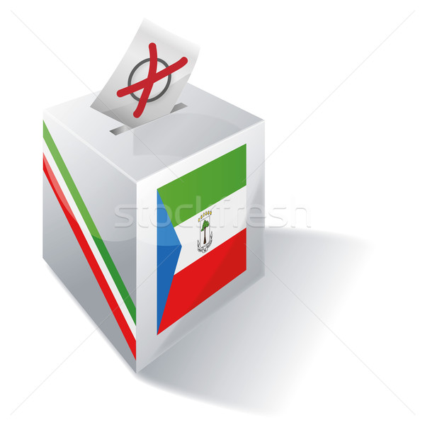 Stock photo: Ballot box Equatorial Guinea