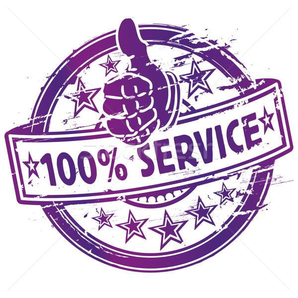 Foto stock: 100 · servicio · resumen · compras · signo