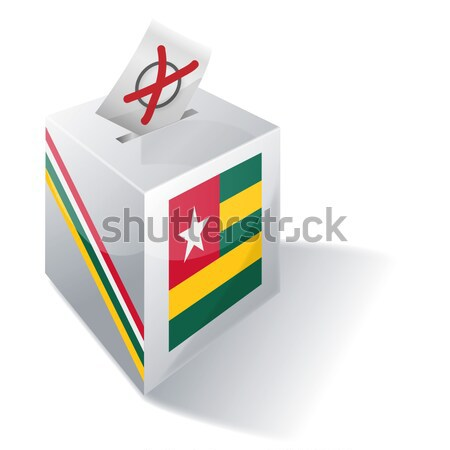Ballot box Ethiopia Stock photo © Ustofre9