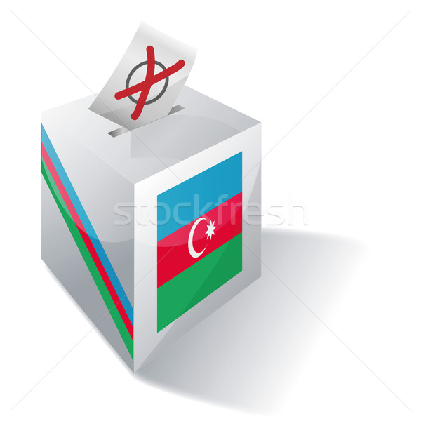 Ballot box Azerbaijan Stock photo © Ustofre9
