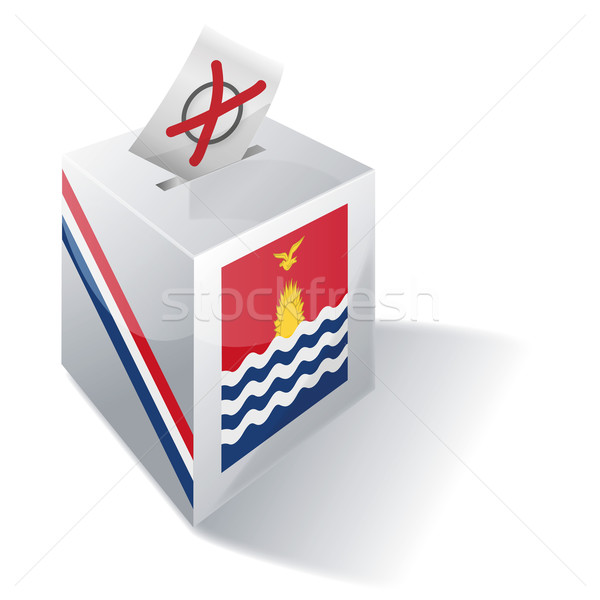 Ballot box Kiribati Stock photo © Ustofre9