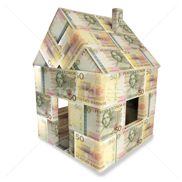 House of 50 Swedish kronor Stock photo © Ustofre9