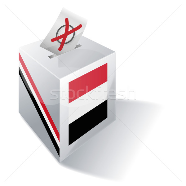 Ballot box Yemen Stock photo © Ustofre9