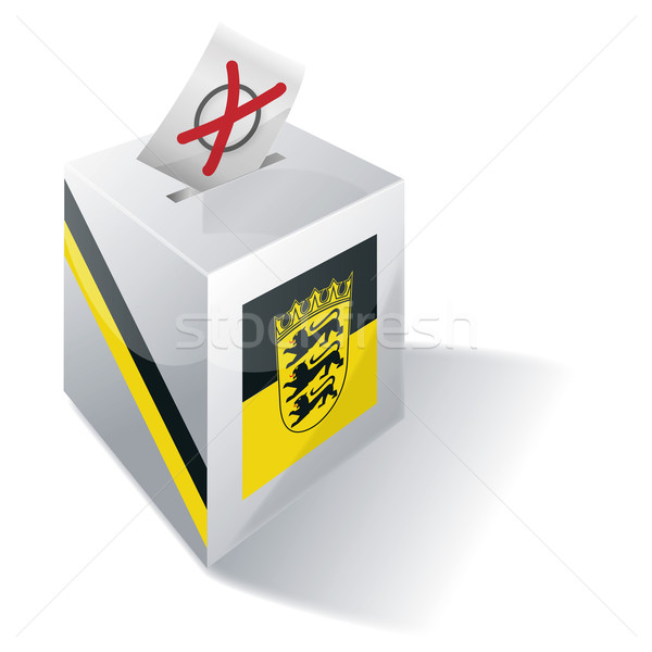 Ballot box Baden-Württemberg Stock photo © Ustofre9