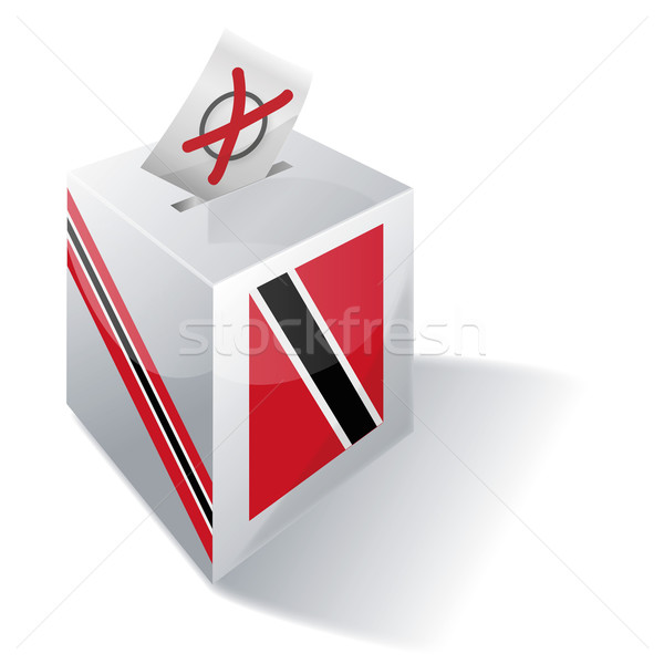 Ballot box Trinidad and Tobago Stock photo © Ustofre9