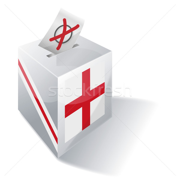 Ballot box England Stock photo © Ustofre9