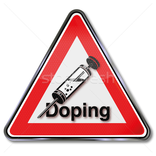 Sign doping and performance enhancement Stock photo © Ustofre9