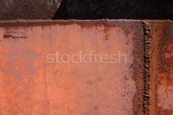 Rust and corrosion in the weld Stock photo © Ustofre9