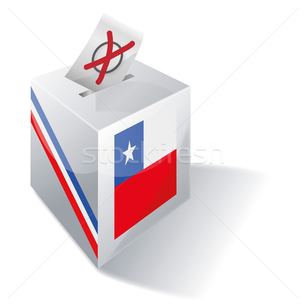 Ballot box Chile Stock photo © Ustofre9