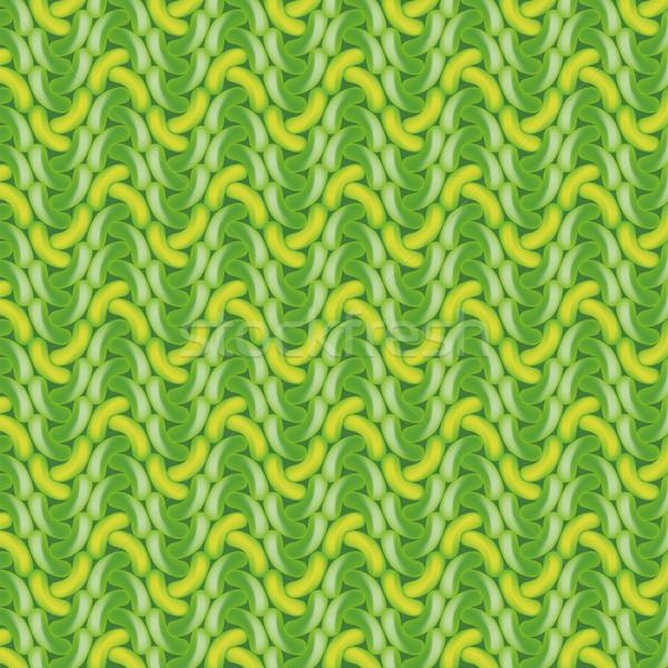 зеленый вязанье шаблон текстуры продовольствие моде Сток-фото © Ustofre9