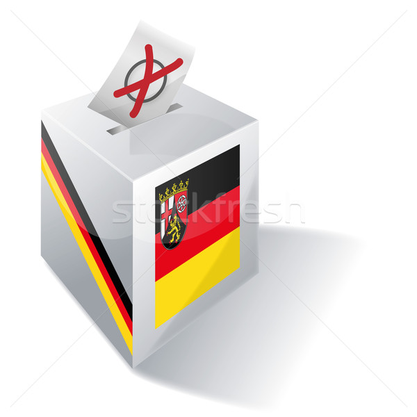 Ballot box Rhineland-Palatinate Stock photo © Ustofre9