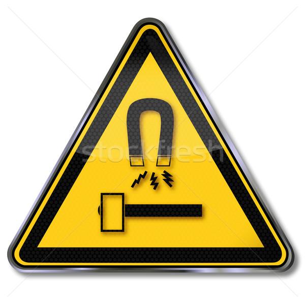 знак опасности предупреждение инструменты оборудование Сток-фото © Ustofre9