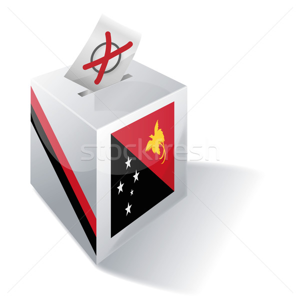 Ballot box Papua New Guinea Stock photo © Ustofre9