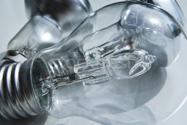 Halogène ampoule lumière énergie électricité vis Photo stock © Ustofre9