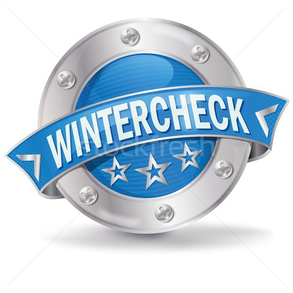 Button winter check Stock photo © Ustofre9
