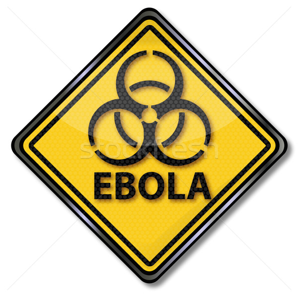 Warning sign against Ebola  Stock photo © Ustofre9